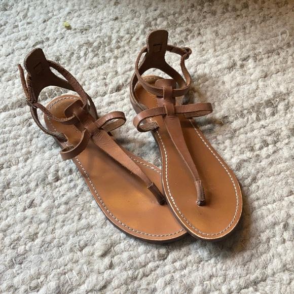 Leather Zara Summer Sandals